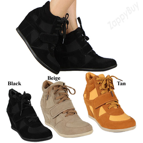 Wedge Heel Sneakers - All Main